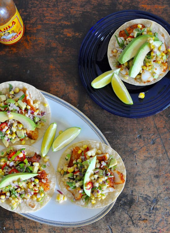 Grilled-Fish-Tacos-with-Corn-Salsa