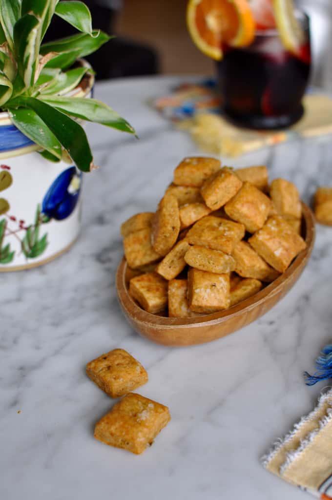 Homemade Jalapeño Cheesy Crackers Recipe