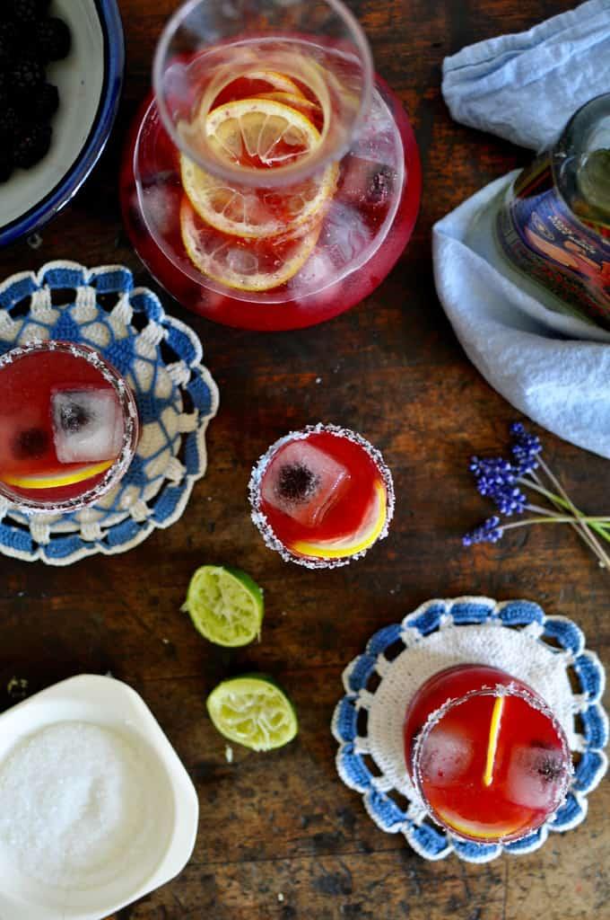 Blackberry Limonada Margarita Recipe