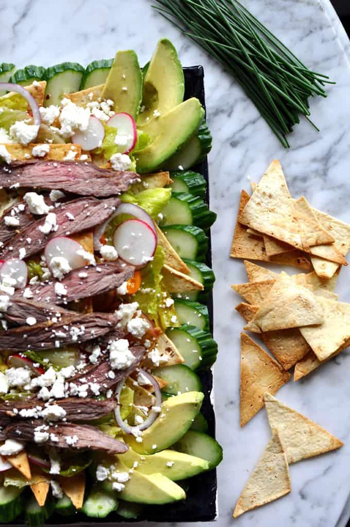 Salpicon Fattoush Salad Recips