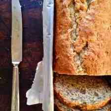 Soft Ricotta Banana Bread Recipe #bananabread #ricottabananabread #softbananabread #Easterrecipes