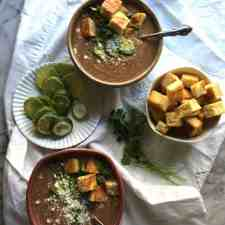 Spicy Black Bean Soup Recipe