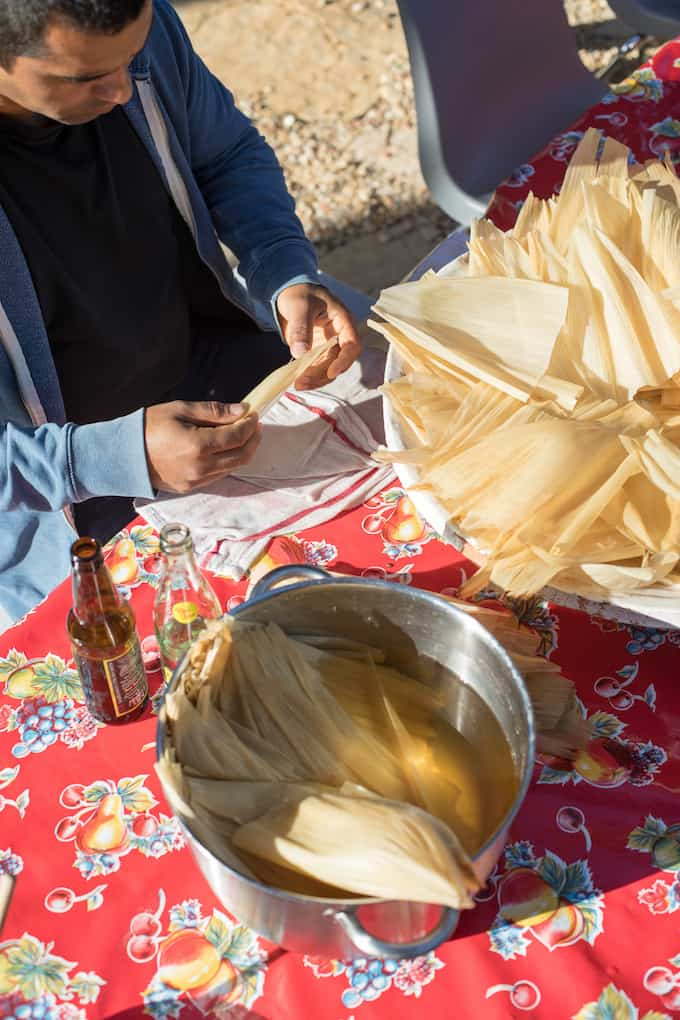Chicken Tamales with Manchamantel Mole Recipe