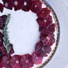 Blood Orange Tart with Vanilla Mascarpone Recipe