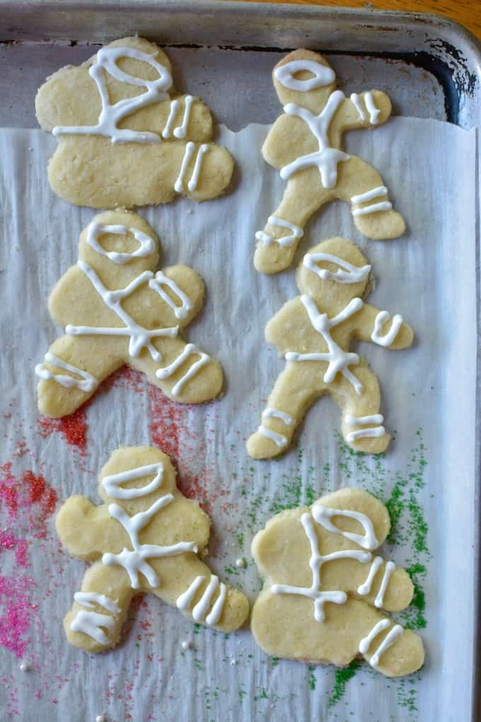 Switch up your Holiday Cut-Outs with these Coconut Christmas Cookies. Made with coconut oil and coconut milk and even shredded coconut they are irresistible