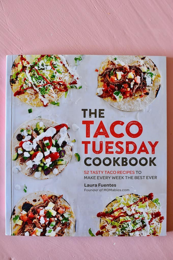 Braised beef short rib tacos from Laura Fuentes new Taco Tuesday Cookbook. Falling off the bone beef with smoky chipotles and cumin. Made in a slow cooker! #shortribtacos #beeftacos #slowcookertacos #tacos #tacorecipe #tacotuesday