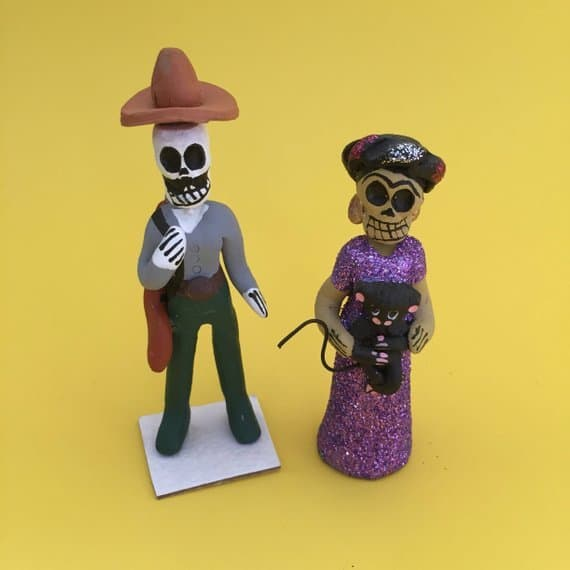 A Day of the Dead Altar is the focal point of holiday celebrations. Everything from candles to incense, Papel Picado to even Pan de Muerto can be ordered online. Here are 10 essentials to order now to prepare your Ofrenda by October 31. #dayofthedead #diadelosmuertos #ofrenda #dayofthedeadaltar #diadelosmuertosaltar