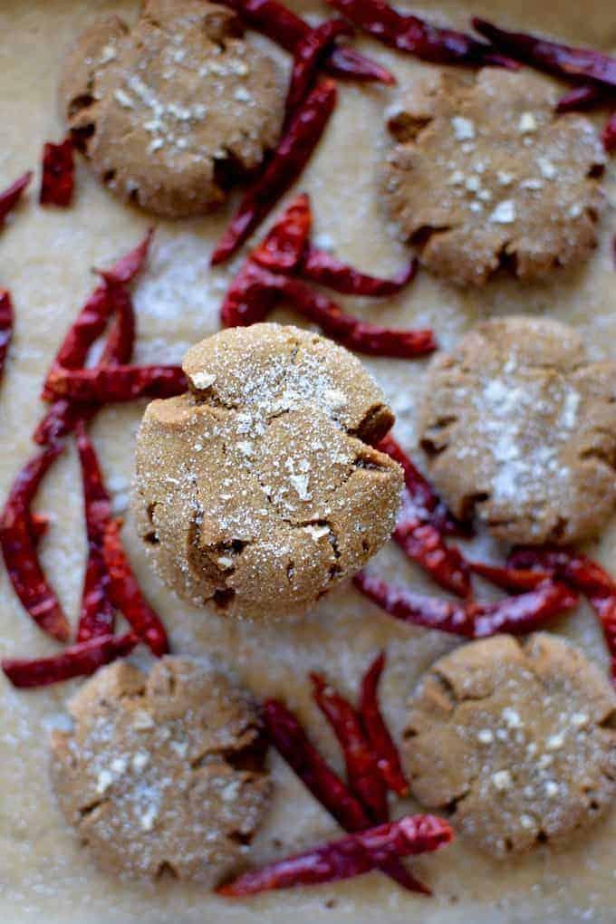 Extra Spicy Molasses Crinkle Cookies Hola Jalapeno Hola Jalapeno