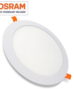 Downlight panel LED circular blanco 12W