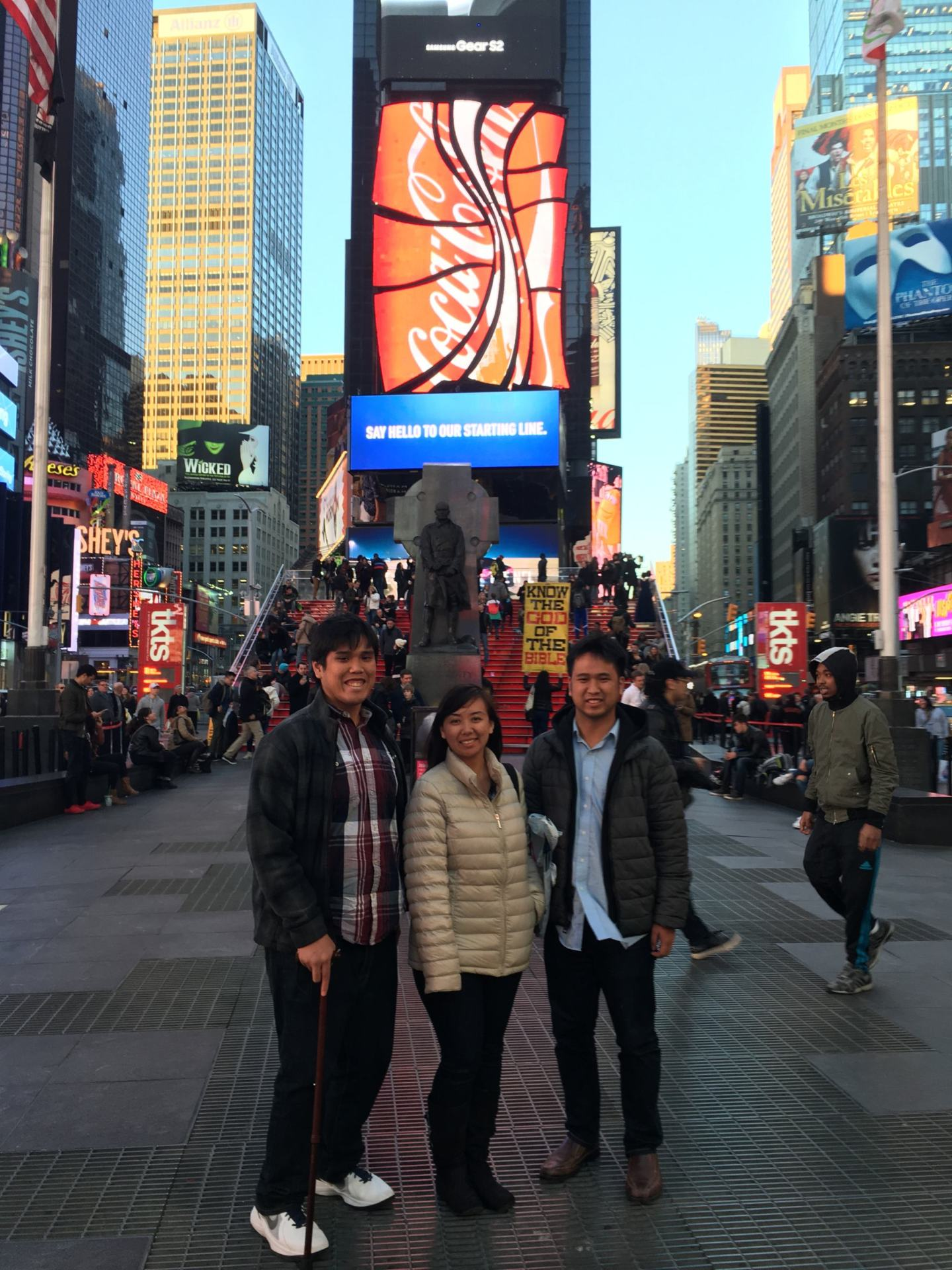 New York City: With The Family