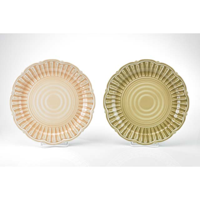 MM-FC0481 Round Salad And Dinner Plate