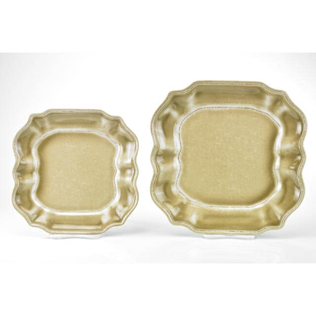 MM-VF06 Square Salad And Dinner Plate