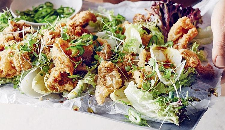 Holar - Blog - How to Make 5 Fantastic Salt and Pepper Dishes at Home - Salt and Pepper Squid Salad