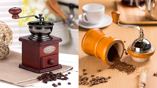 Holar - Blog - How to Make the Best Cup of Pour over Coffee (It's Easy) - Use manual burr coffee grinder only before brewing