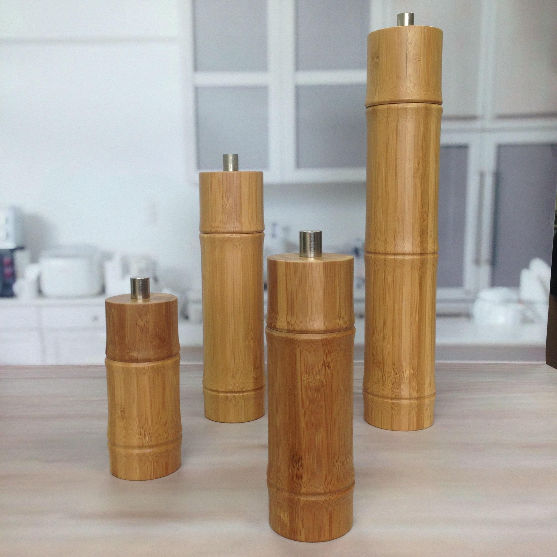 BB-45 Bamboo Pepper Mill-3