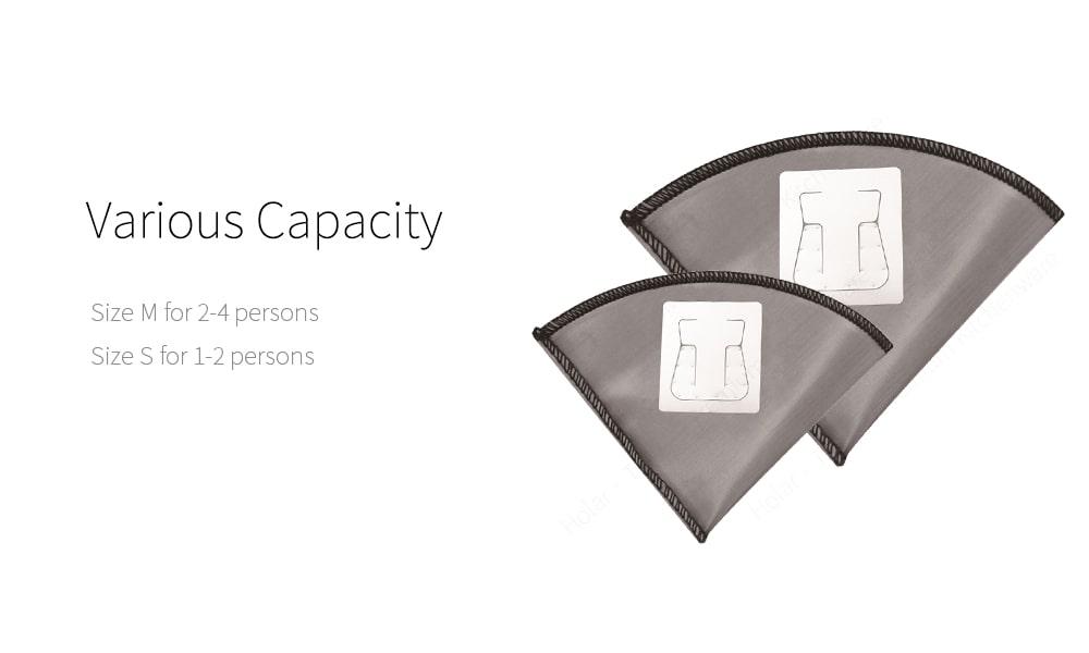 Capacity of reusable hanging ear coffee bag-PS-DC07