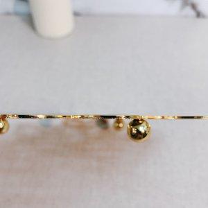Gold Flower Shape Potholder