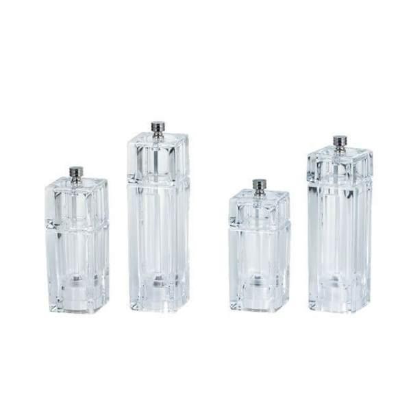 HOLAR HK HKB Acrylic Salt and Pepper Mill Grinder Plastic - 1