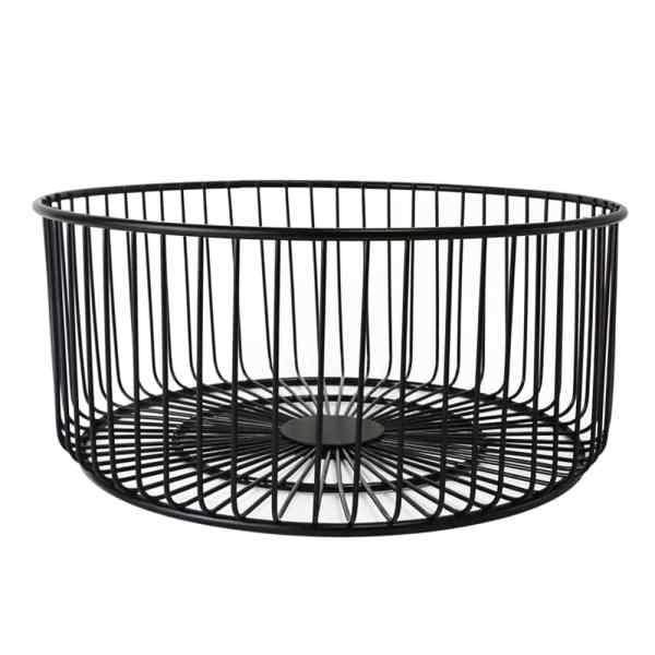 Holar BASK-B Metal Wire Basket Large Pantry Storage