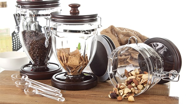 Holar - Blog - How to Maximize Storage Space for Small Cabinet with These 6 Kitchen Appliances - Acrylic Canisters