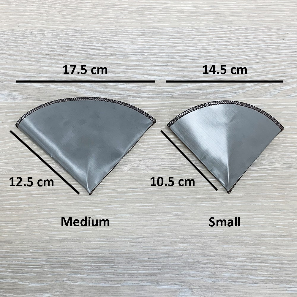 Holar - Coffee - Coffee Filter - PS-DC03 Reusable Foldable Stainless Steel Coffee Cone Dripper - 2