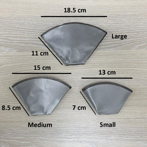Holar - Coffee - Coffee Filter - PS-DC05 Reusable Foldable Stainless Steel Coffee Sector Dripper - 2
