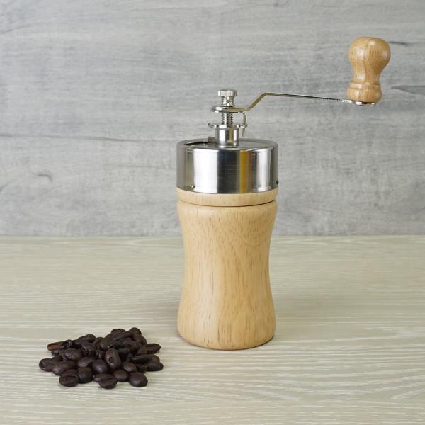 Holar - Coffee - Coffee Mill - CM-002 Portable Wooden Manual Coffee Grinder - 4