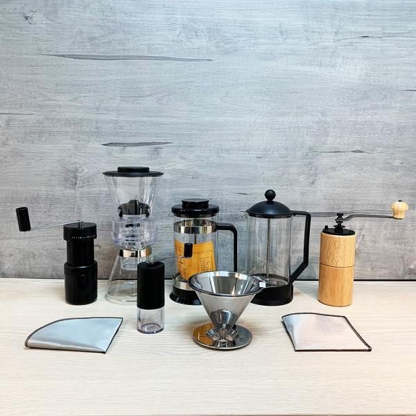 Holar - Coffee - Slim Series - PS-CM01W Portable Mini Manual Coffee Grinder - 6