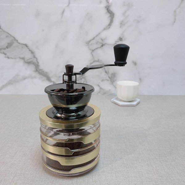 Holar Coffee Mill Acrylic Series CM-HK-Canister Coffee Grinder - 6