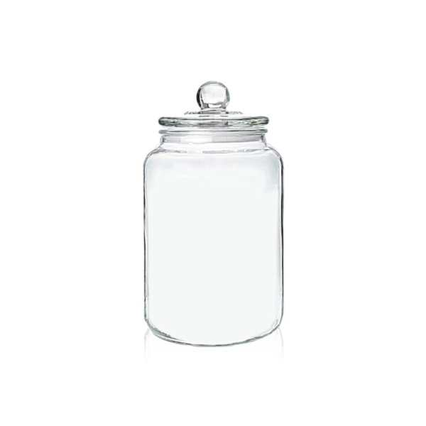 Holar - Kitchen Canister Series - Glass Jars Series - GCA-3L 3000 ml Glass Canister Container