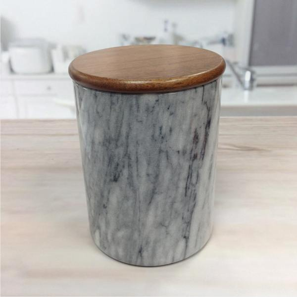 Holar MB-14 Marble Jar Container-2