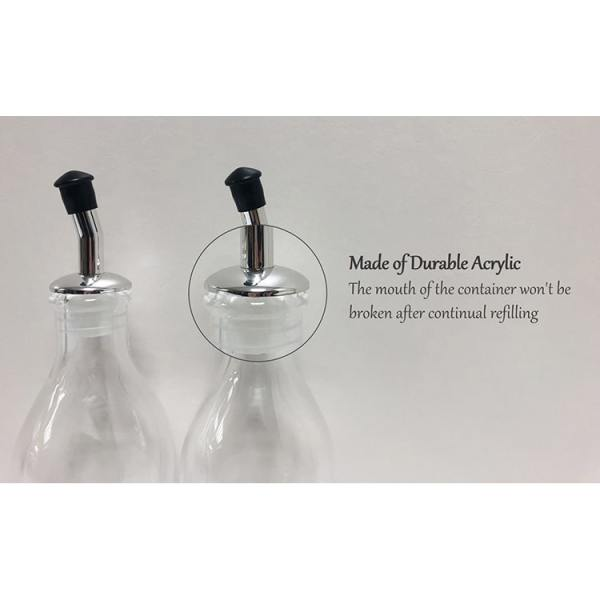 Holar - Oil And Vinegar - Plated And AC Series - HK-525 Oil And Vinegar Dispenser Set - Spout