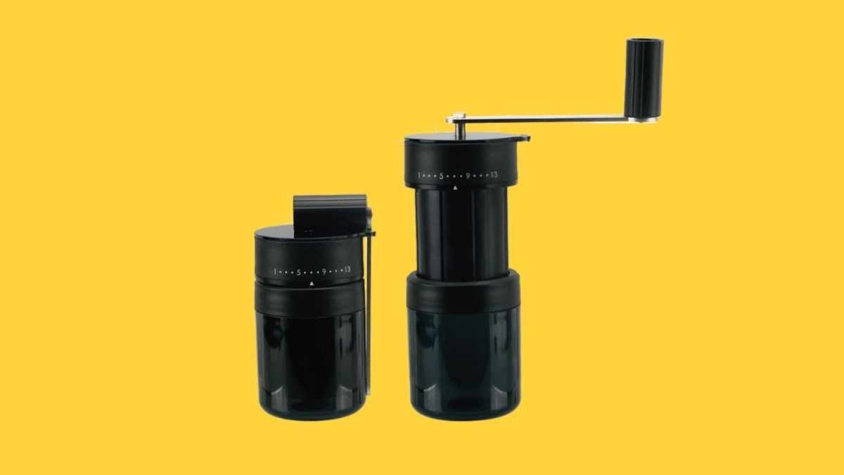 Holar PS-CM02 Hand Crank Portable Coffee Grinder-cover