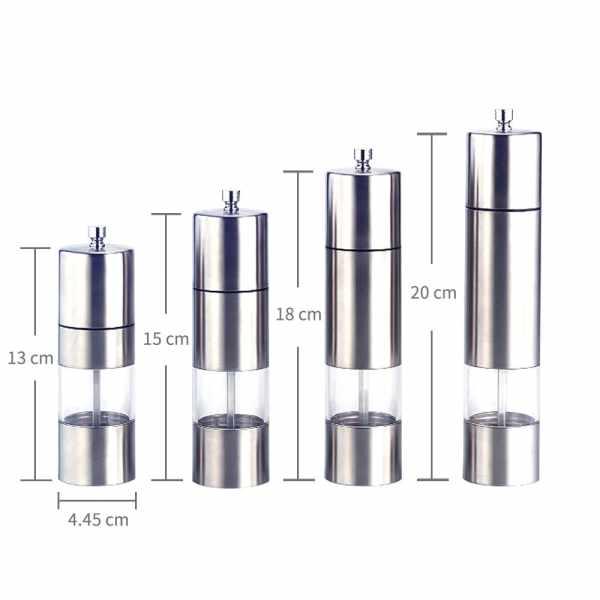 Holar SSA-02 Stainless Steel Pepper Mills-2