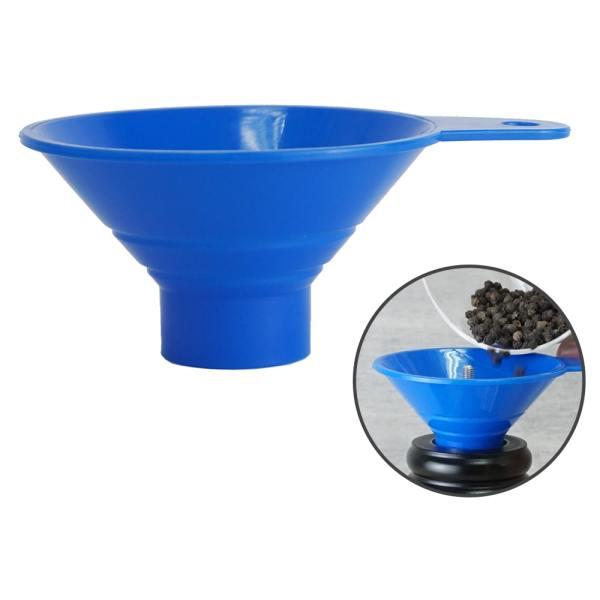 Holar - Salt Pepper Tools Gadgets - Spice Salt and Pepper Fill Funnel - FUNNEL-PP - Main
