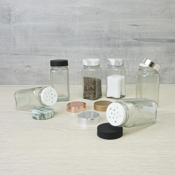 Holar - Salt and Pepper Catagory - Salt Pepper Spice Shaker Bottle - SP-06MBG Spice Jar - 5 - Various
