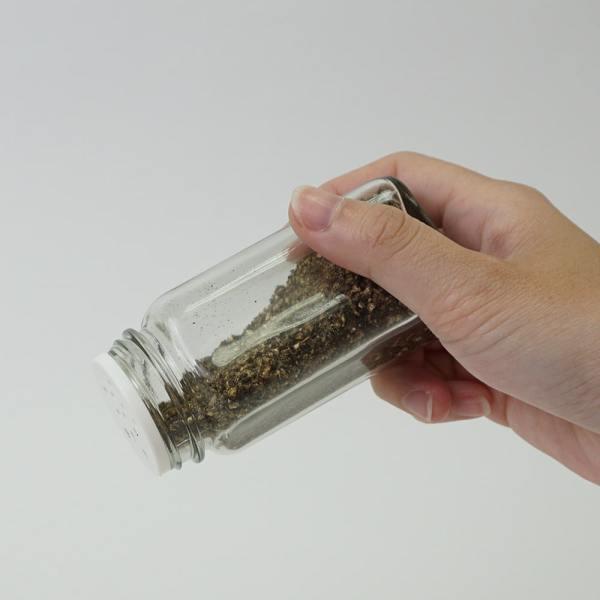 Holar - Salt and Pepper Catagory - Salt Pepper Spice Shaker Bottle - SP-06RG Spice Jar - 4 - Hold