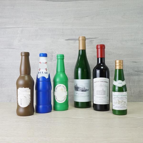 Holar - Salt and Pepper - Wood Mill - BR-01 Beer Bottle-Shaped Salt and Pepper Grinder - Bottles