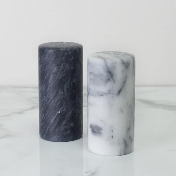 Holar - Tabletop - Marble - MB-36 Set of 2 Marble Salt and Pepper Shakers - 2