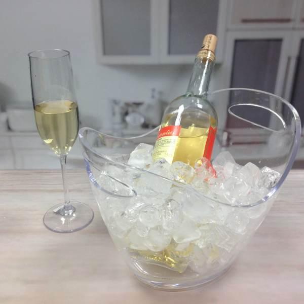 acrylic wine party tub-3