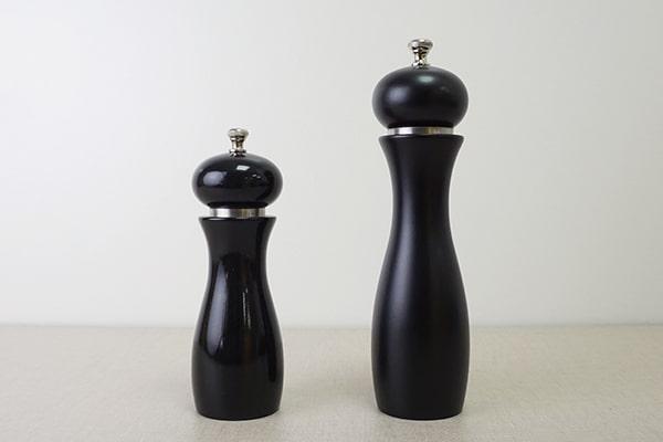 bright vs matt finish-Holar Blog-Sourcing Salt and Pepper Grinders