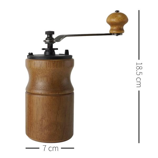 dimension of CM-A19B hand coffee mill