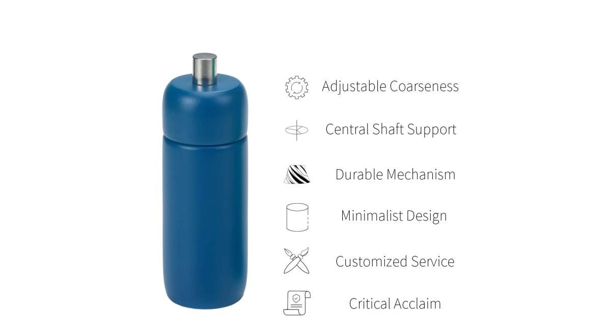 feature of mini salt and pepper grinder_HL-83