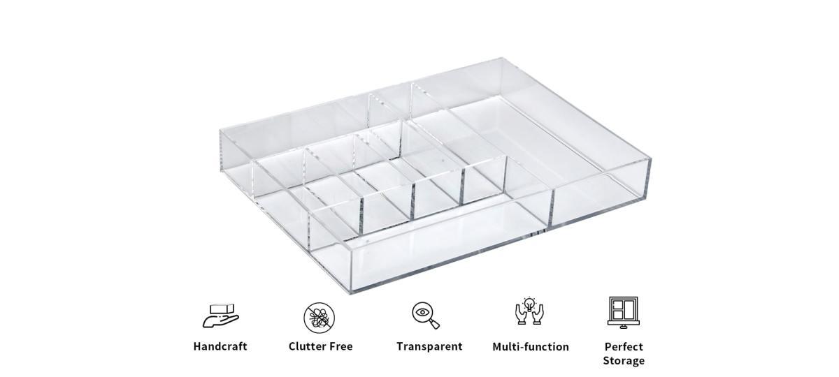features of Holar AZ-17 clear organizer