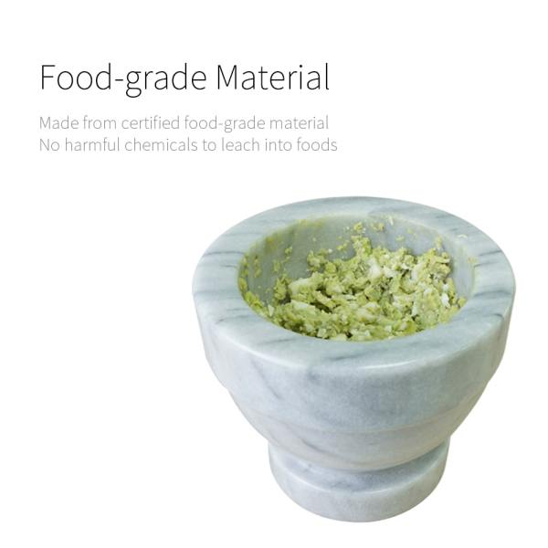 food grade-Holar MB-05 marble mortar and pestle