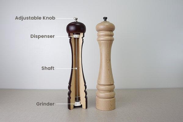 inner parts of a high-end grinder-Holar Blog-Sourcing Salt and Pepper Grinders