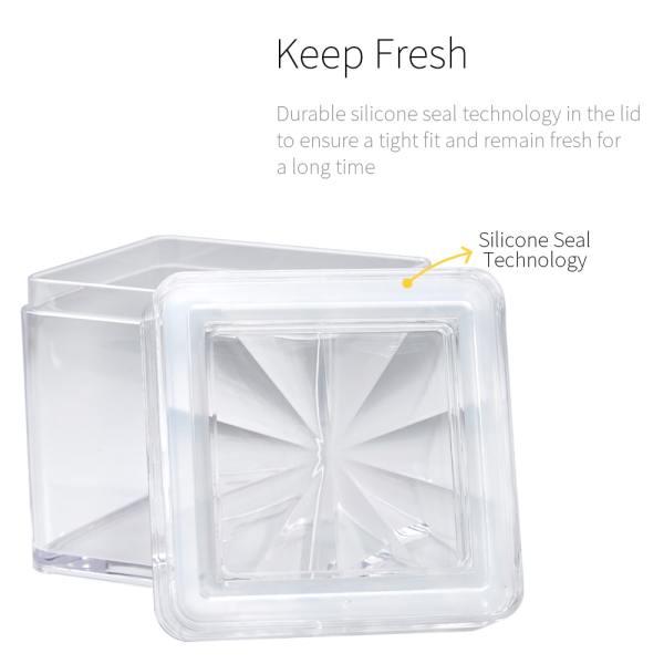 keep fresh with silicon lid- Holar CASQ-01