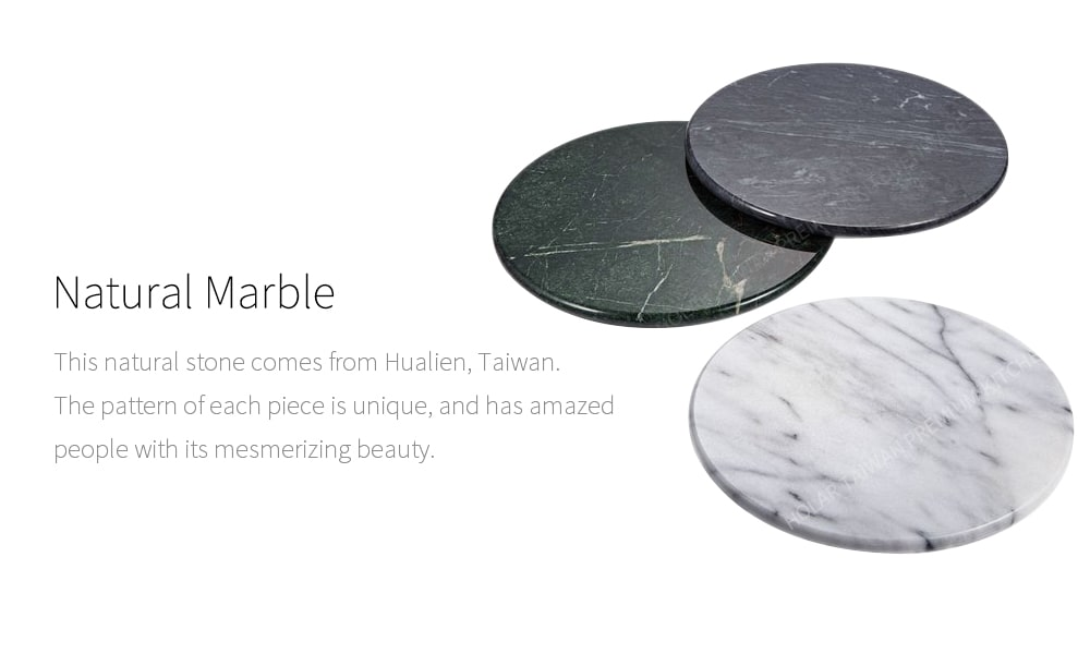 natural marble-Holar MB-07 marble round plate