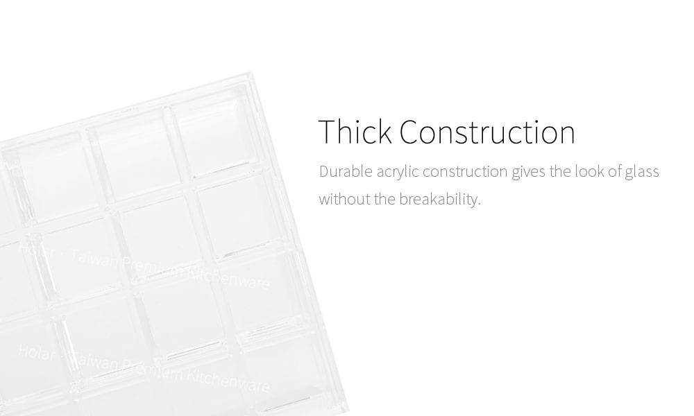 thick sturdy durable acrylic AZ-1819