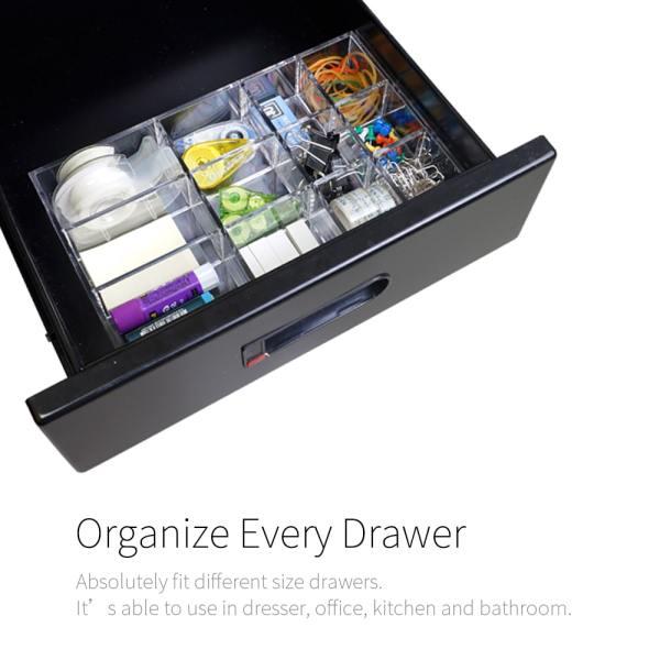 well draw organization-Holar Acrylic drawer organizer series